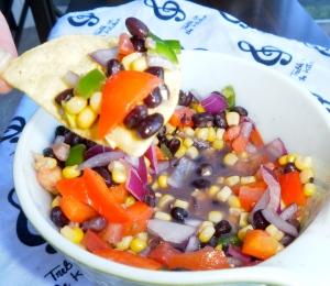 Corn and Blackbean Salsa